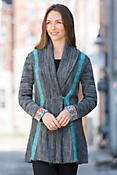 Indigenous D2W Alpaca Wool-Blend Cardigan Sweater