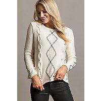 Overland Candice Organic Peruvian Cotton-Blend Pullover Sweater