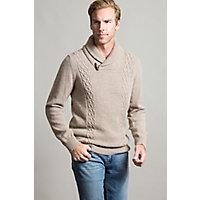 Portland Alpaca Wool Fisherman's Sweater