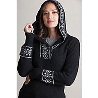 Overland Natalia Peruvian Alpaca Wool Hoodie Sweater