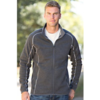 Men's Kuhl Scandinavian Full-Zip Fleece Jacket, Steel, Size Xxlarge (48-50) Western & Country