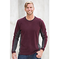 Men's Kuhl Kontendr Organic Cotton Pullover, Brick, Size Xxlarge (48-50) Western & Country