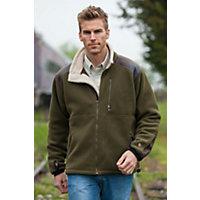 Men's Kuhl Alpenwurx Fleece Jacket, Olive, Size Xx-Large (46-48) Western & Country