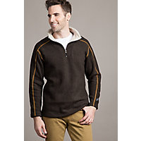 Men's Kuhl Europa 1 / 4-Zip Fleece Pullover, Charcoal, Size Small Western & Country