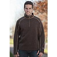 Men's Kuhl Thor 1 / 4-Zip Fleece Pullover, Brown, Size Medium (38-40) Western & Country