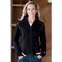 Women's Kuhl Tara Full-Zip Fleece Jacket, BLACK, Size LARGE (10)