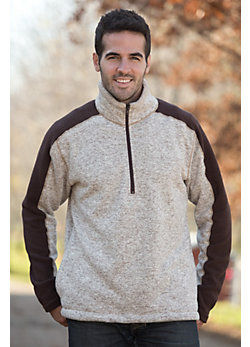Men's Pinnacle Half-Zip Fleece Pullover
