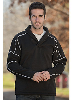 Men's Kellen Shawl Collar Fleece Pullover
