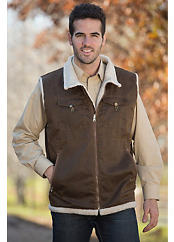 Men's Brody Waxed Cotton Field Vest