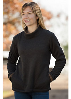 Women's Britney Knit Fleece Pullover