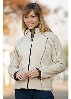 Women's Nanette Berber Weekender Full-Zip Fleece Jacket