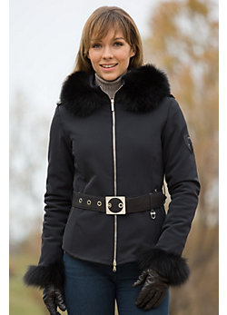 Women's M. Miller Elke Ski Jacket with Fox Fur Trim