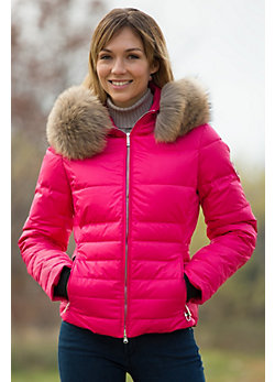 Women's M. Miller Kory Down Jacket with Raccoon Fur