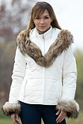 Women's M. Miller Kelli Parka with Raccoon Fur Trim