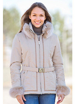 M. Miller Orla Parka with Fox Fur Trim