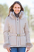 Women's M. Miller Orla Parka with Fox Fur Trim