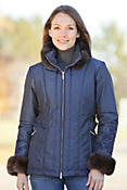 Women's M. Miller Orla Parka with Sable Fur Trim