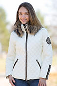 Women's M. Miller Kayla Jacket with Raccoon Fur Trim