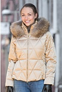 M. Miller Margot Down Parka with Raccoon Fur Trim