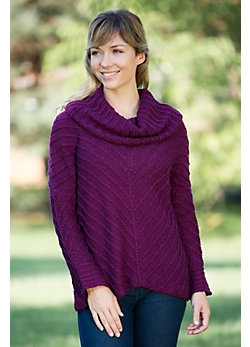 Women's Nia Winter Cotton Pullover Sweater