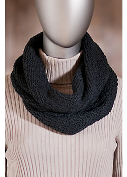 Women's Knitted Cotton Loop Scarf