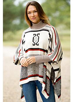 Women's Indi Handmade Alpaca Wool Poncho