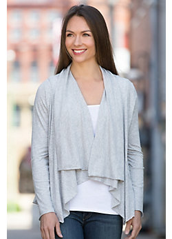 EZ Organic Cotton Cardigan Sweater