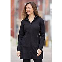 Women's Ibex Pez Merino Wool Sweater, Black Coffee / Black, Size Medium (8-10) Western & Country