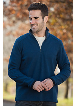 Men's Pez 1/4-Zip Merino Wool Pullover