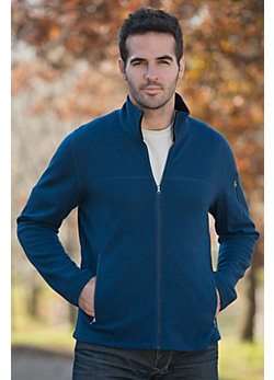 Men's Pez Full-Zip Merino Wool Jacket