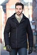 Men's Ibex Runout Merino Wool Coat