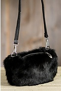Rabbit Fur Muff Purse