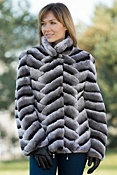 Women's Charlotte Rabbit Fur Jacket