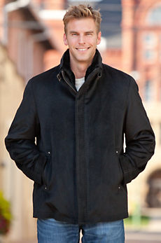 Thurston Wool & Cashmere Jacket with Shearling Lining