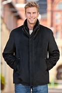 Thurston Cashmere-Blend Wool Jacket with Shearling Lining