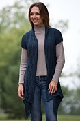 Women's Chamonix Short-Sleeve Cotton Cardigan Sweater