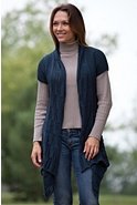 Women's Chamonix Handwoven Cotton Cardigan Sweater