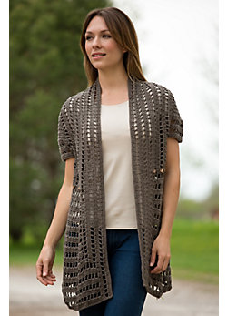 Women's Modern Cotton Cardigan Sweater