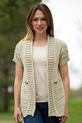 Women's Reclaimed Cotton Cardigan Sweater