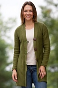 Women's Maxi Handmade Cotton Jacket