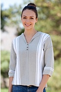 Women's Summer Home Handmade Cotton Sweater