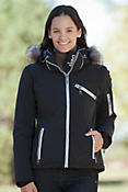 Skea Gili Parka with Silver Fox Fur Trim