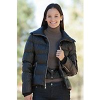 Women's Skea Chloe Down Ski Parka With Finn Raccoon Fur Collar, Black, Size 10 Western & Country
