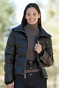 Women's Skea Chloe Down Ski Parka with Finn Raccoon Fur Collar