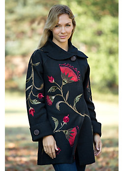 Women's Dorothea Garden Boiled Wool Coat