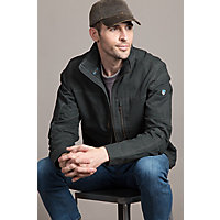 Men's Kuhl Burr Zip-Front Canvas Jacket, Raven, Size Medium (39-41) Western & Country