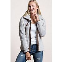 Women's Kuhl Flight Fleece Jacket, Stone, Size Large Western & Country