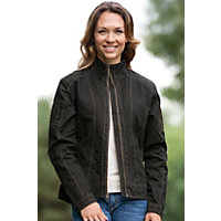 Women's Kuhl Sidney Burr Combed Cotton Jacket, Espresso, Size Xlarge (10) Western & Country