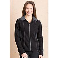Women's Kuhl Aurora Fleece Jacket, Black, Size Large (8) Western & Country