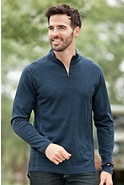Men's Kuhl Skar 1/4-Zip Merino Wool Crew Shirt